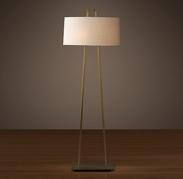 Hastings floor lamp base x x shade diam