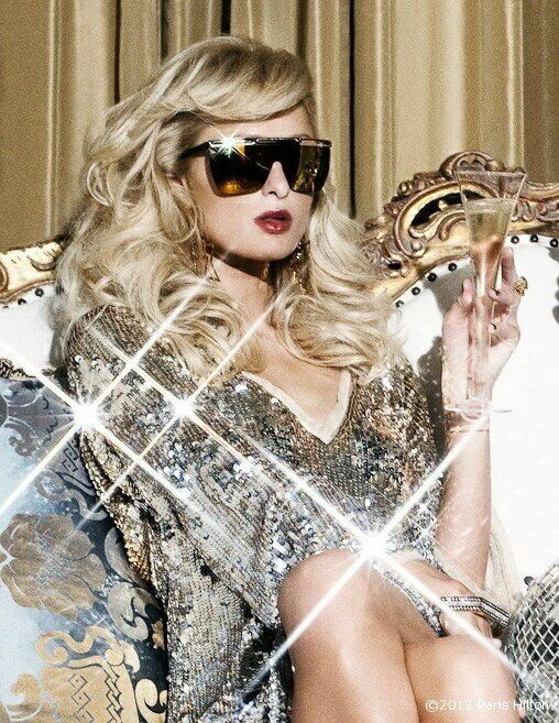Paris Hilton living the luxe life