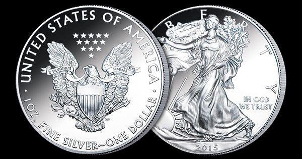 Silver Eagle 2015 - stříbrná mince USA
