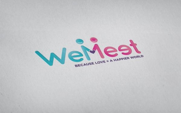 WeMeet - App Logo by Marco Tagliabue, via Behance