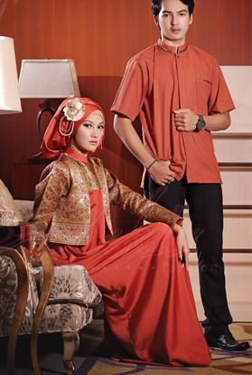 Baju muslim terbaru untuk gaya busana muslim 2015