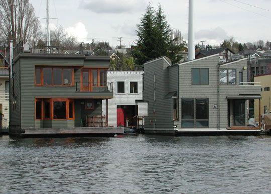 Inspiration: Modern Houseboats
