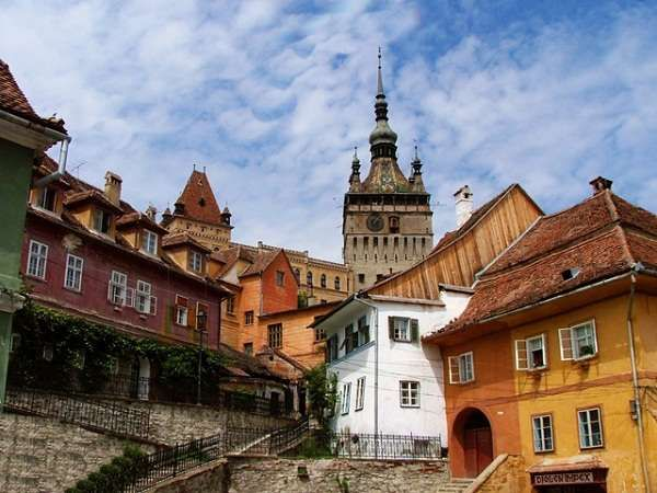 Romania's fortified medieval town Sighisoara
