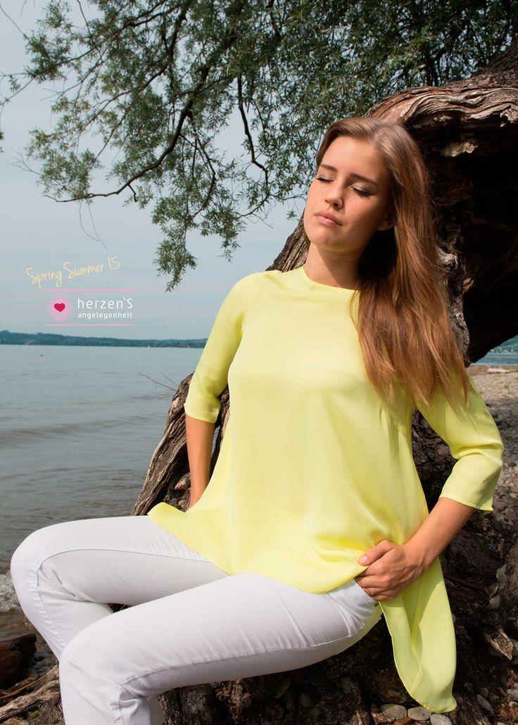 6151-6003 soft #silk blouse, all colors feel the softness #herzensangelegenheit