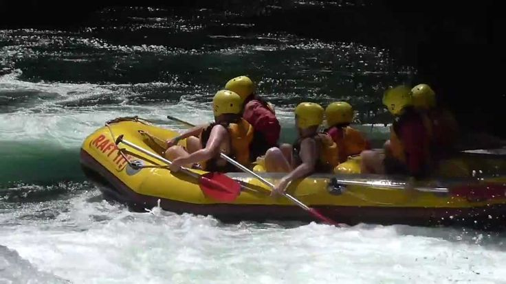Rafting action on the Kaituna River