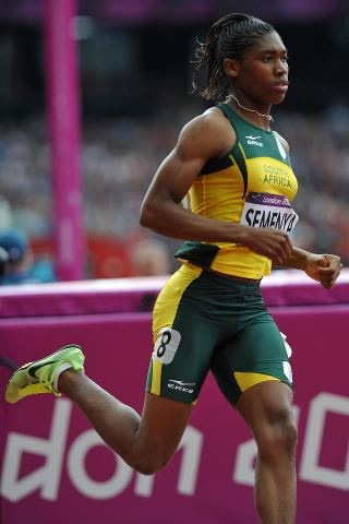 Caster Semenya, you ROCK, girl! You keep on winning, and win that gold - it's YOURS! SA is behind you every step of the way!