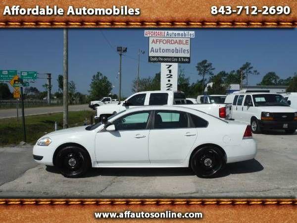 2012 Chevrolet Impala Police Cruiser (Affordable Automobiles)