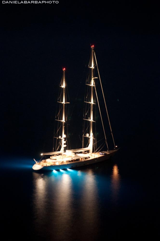 Rosehearty by night (Positano)