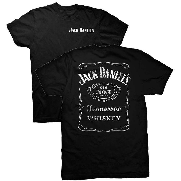 Jack Daniels Double Sided Tee Shirt, Men's