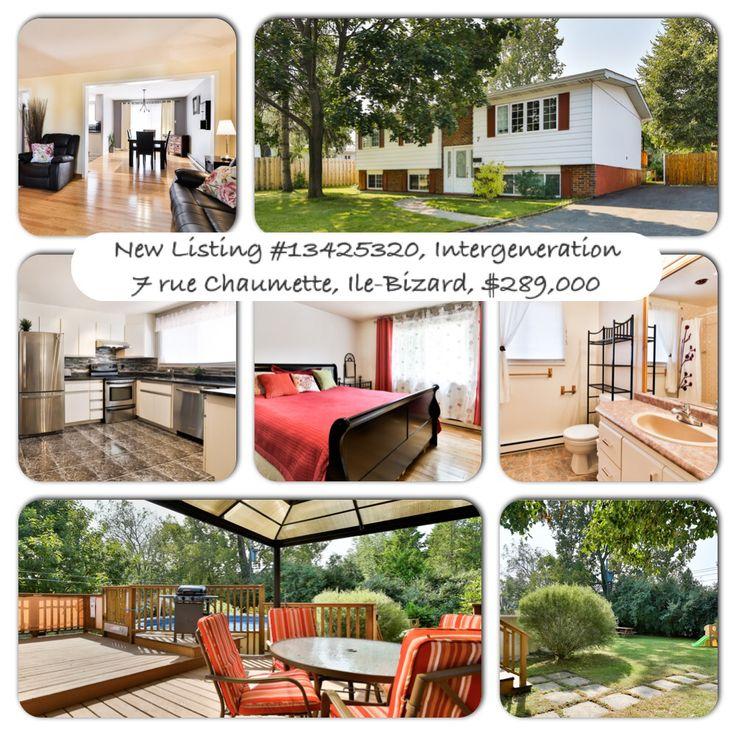 New Listing #13425320, Intergeneration 7 rue Chaumette, Ile-Bizard, $289,000