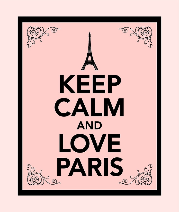 Keep Calm and Love Paris Print - Buy two Get One FREE. $10.00, via Etsy.