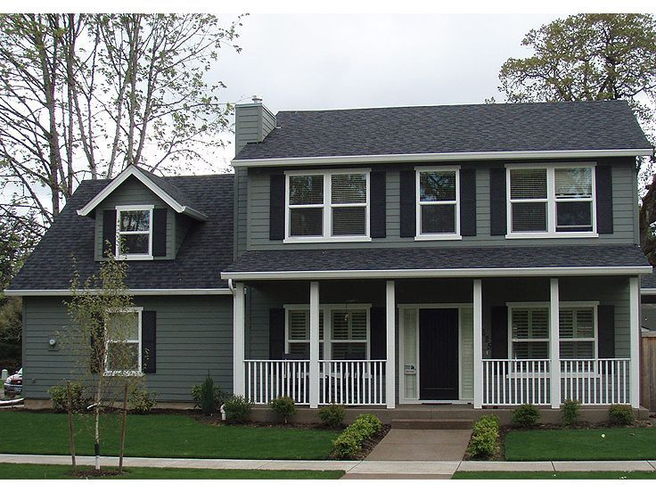 Best Two Story House Plans Images On Pinterest Story House