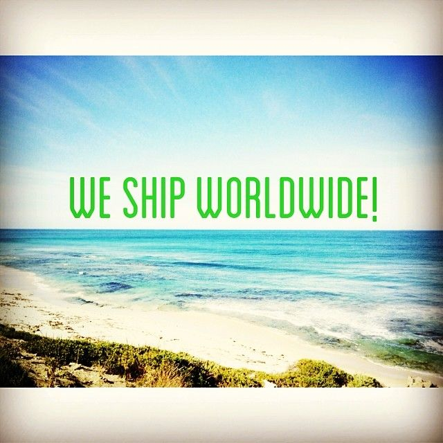 Did you know we ship worldwide? We can't bring you the beaches, but we can bring you Green Smoothie Co. wherever you are! We've shipped to the US, UK, Canada, Indonesia, Germany, Spain, New Zealand, Tonga and of course all over Australia!  www.greensmoothieco.com