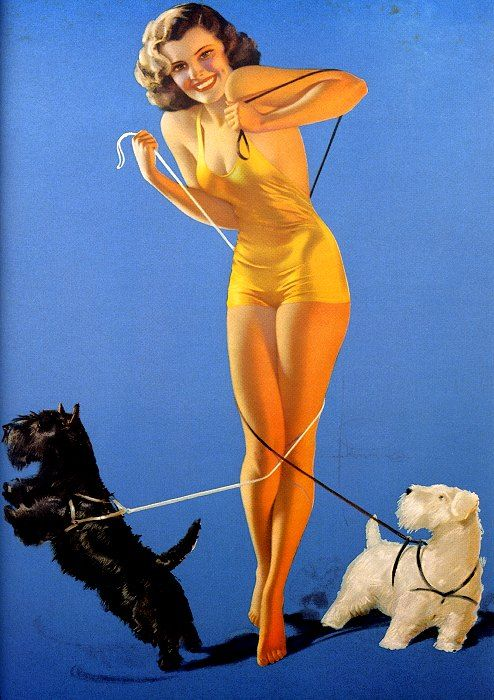 """Tangled Pinup 