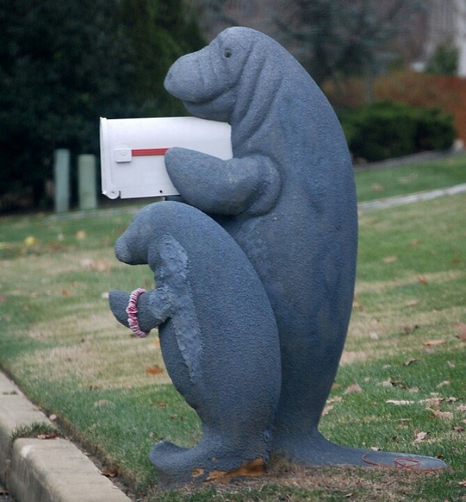 315 best mail boxes images on pinterest mail boxes for Funny mailboxes for sale