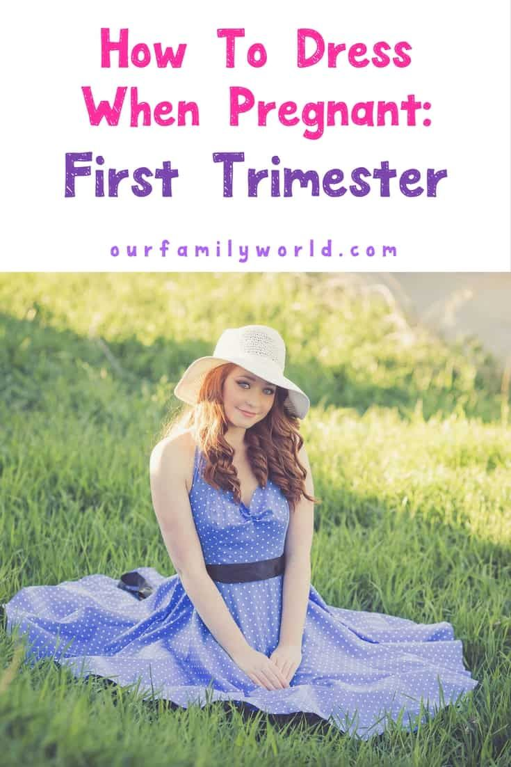 d9a7f8f714ee1 Dress comfortably on a budget while you're pregnant during your first  semester. #pregnancy #pregnancydress #maternitydress #pregnancyideas  #firsttrimester ...