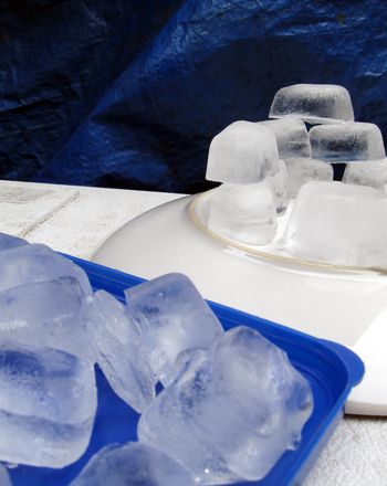 You don't need to head to the Arctic to experiment with life in an igloo. Kids can build their own ice igloo at home from water and empty milk containers.
