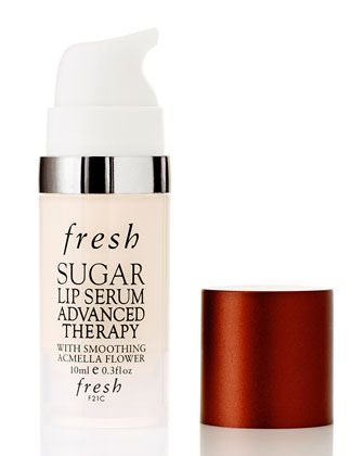 Fresh  Sugar Lip Serum Advanced Therapy, 10 mL - the ultimate age-defying treatment for your lips and lip contour area. This revolutionary product helps to nourish and improve the definition on and around the lips while visibly smoothing fine lines for fuller, younger-looking lips.