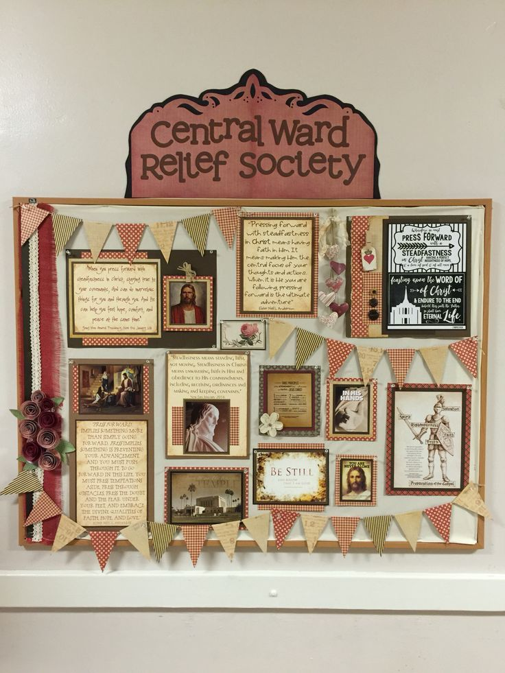 23 Best Relief Society Bulletin Board Ideas Images On