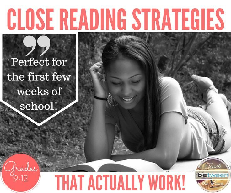 Grades 9-12- Teach your students how to use close reading strategies to improve reading comprehension and written analysis. This gradual release method will encourage your students to completely rethink how they view themselves as a readers. Close reading strategies  High school English Reading Teaching reading  Reading in high school