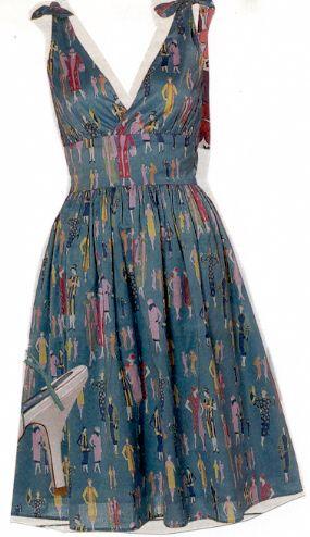 Sara Berman Style Dress, tutorial for confident beginners