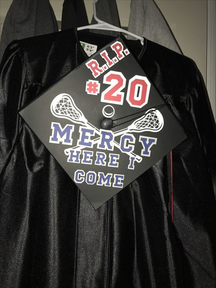 Decorating graduation cap off to college playing lacrosse - #college #decorating #graduation #lacrosse #playing - -