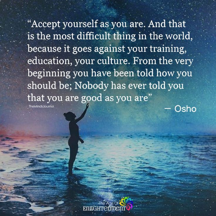 Accept Yourself As You Are - https://themindsjournal.com/accept-yourself-as-you-are-2/