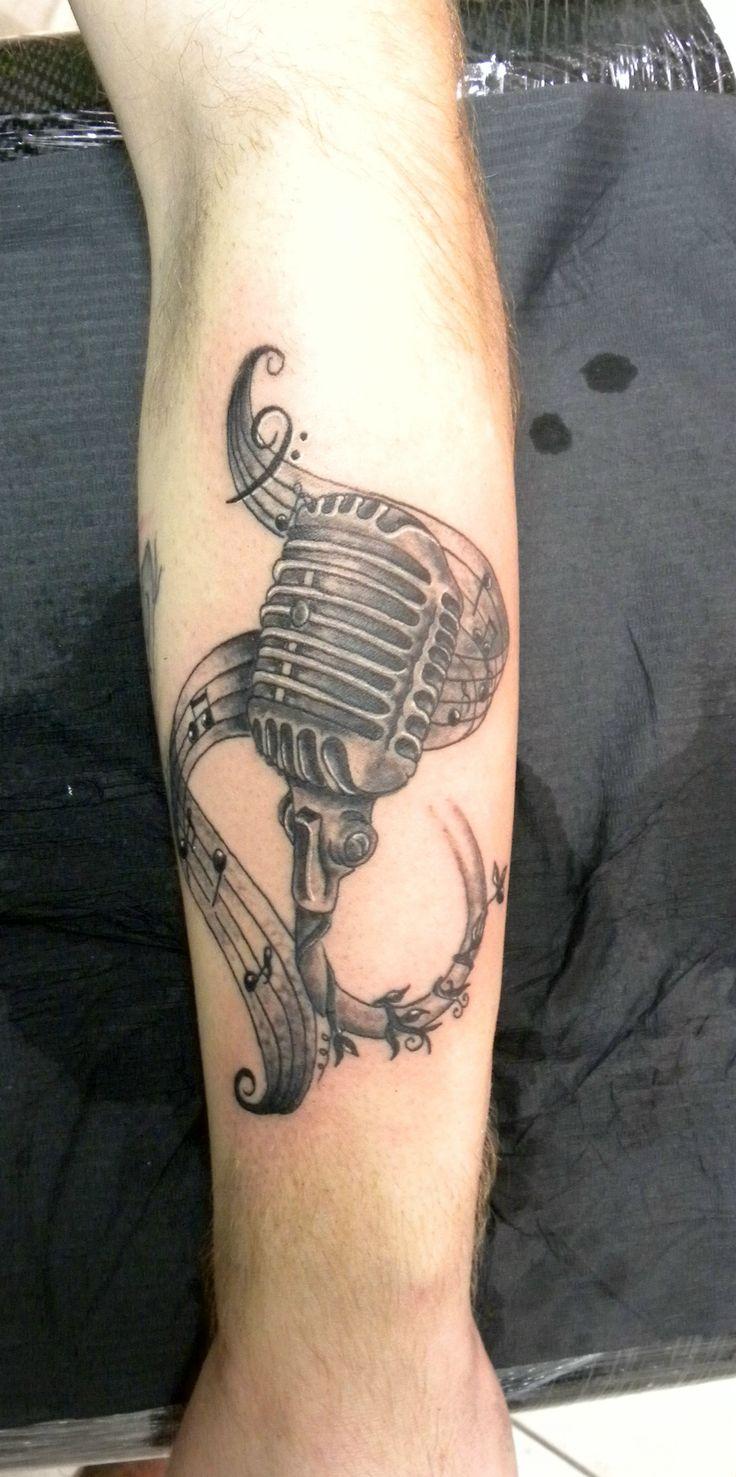 #microfono#tatuaggio