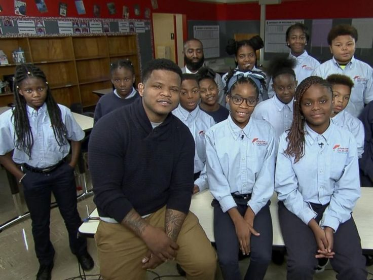 "An inspirational group of 6th-graders have released a catchy rap video on education that's been shared -- and learned -- by thousands.  Terrance Sims is the 6th-grade math teacher who recorded the rap with his class from Milwaukee Excellence School in Milwaukee.  Sims said he's been using hip-hop to get his students excited to learn. The video and song, ""Excellence First,"" encourages the message of staying in school."