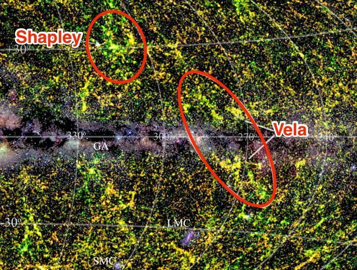 vela supercluster galaxies university cape town jarrett labeled