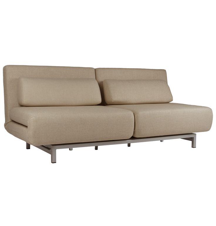 Replica Futura Le Vele Sofa Bed - Fabric B - Matt Blatt