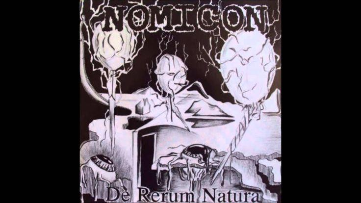 NOMICON - De Rerum Natura ◾ (single 1992, Finnish thrash/death metal)