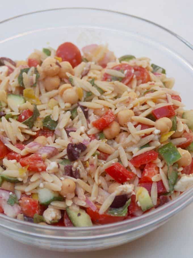 Orzo Salad from Trisha Yearwood - Just 5 Weight Watchers SmartPoints