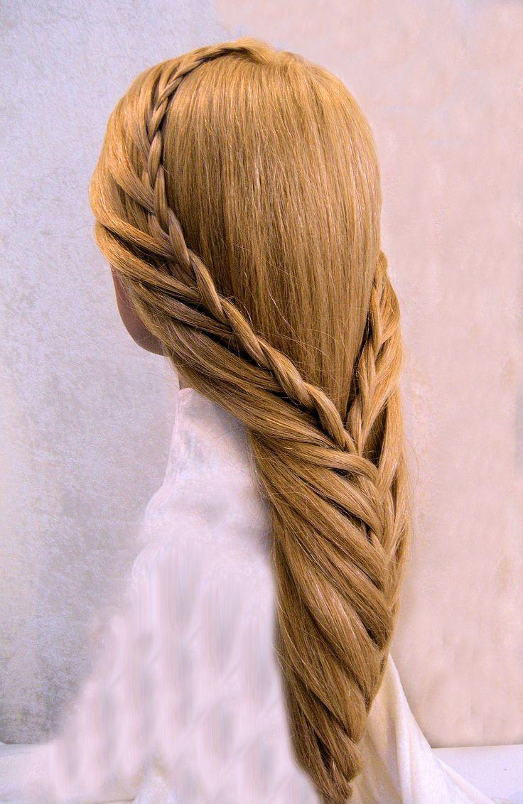 best hairstles galore images on pinterest long hair