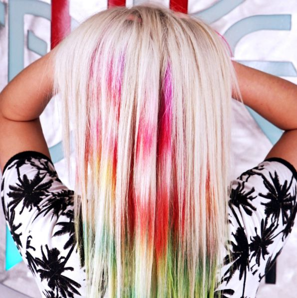 Year in Review: All the Many Crazy Hair-Color Trends of 2015