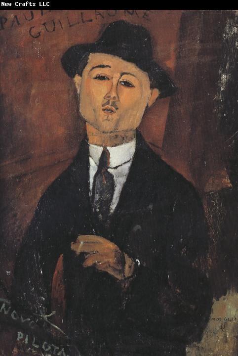 Amedeo Modigliani. Portrait of Paul Guillaume.