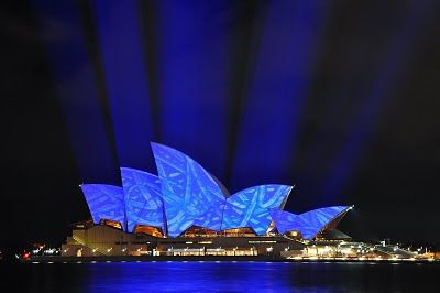 Light it Up Blue April 2nd... Sydney Opera House.
