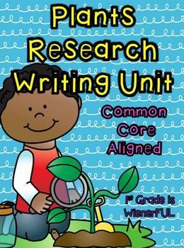 2nd grade plant research paper