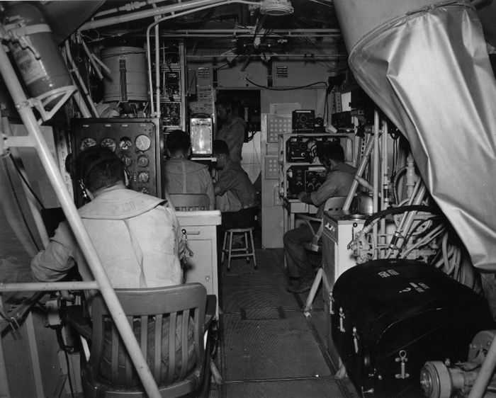 Interior Of The Gondola Of A US Navy Blimp Www
