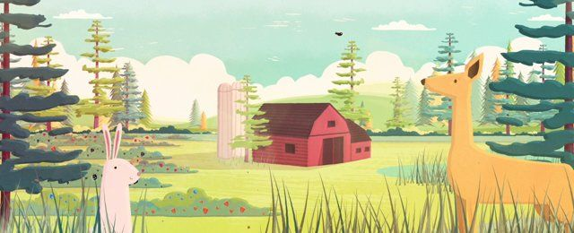 When I was approached by Nurture Digital to do the design and animation for the new Crofters Organic video, I was really excited! With such a lovely story and song I got to really get my teeth stuck into something special.
