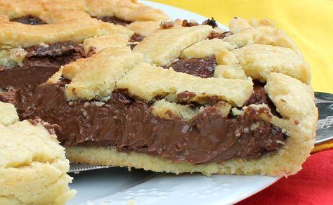 Volete preparare un crostata con nutella golosissima con la nutella che non…