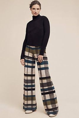 The patterned pants press all my buttons, unsure why.  Bold statement in your clothing eliminates the following of trends. Tx