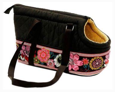 Сумка-переноска для кошек Fauna International Toby Bag, черная - купить в интернет магазине, цена на переноски для собак в Ашан