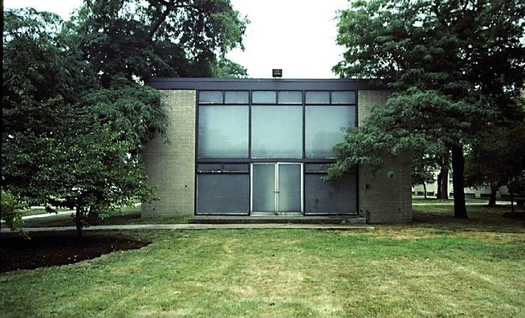mies van der rohe chapel illinois institute of technology chicago 1953