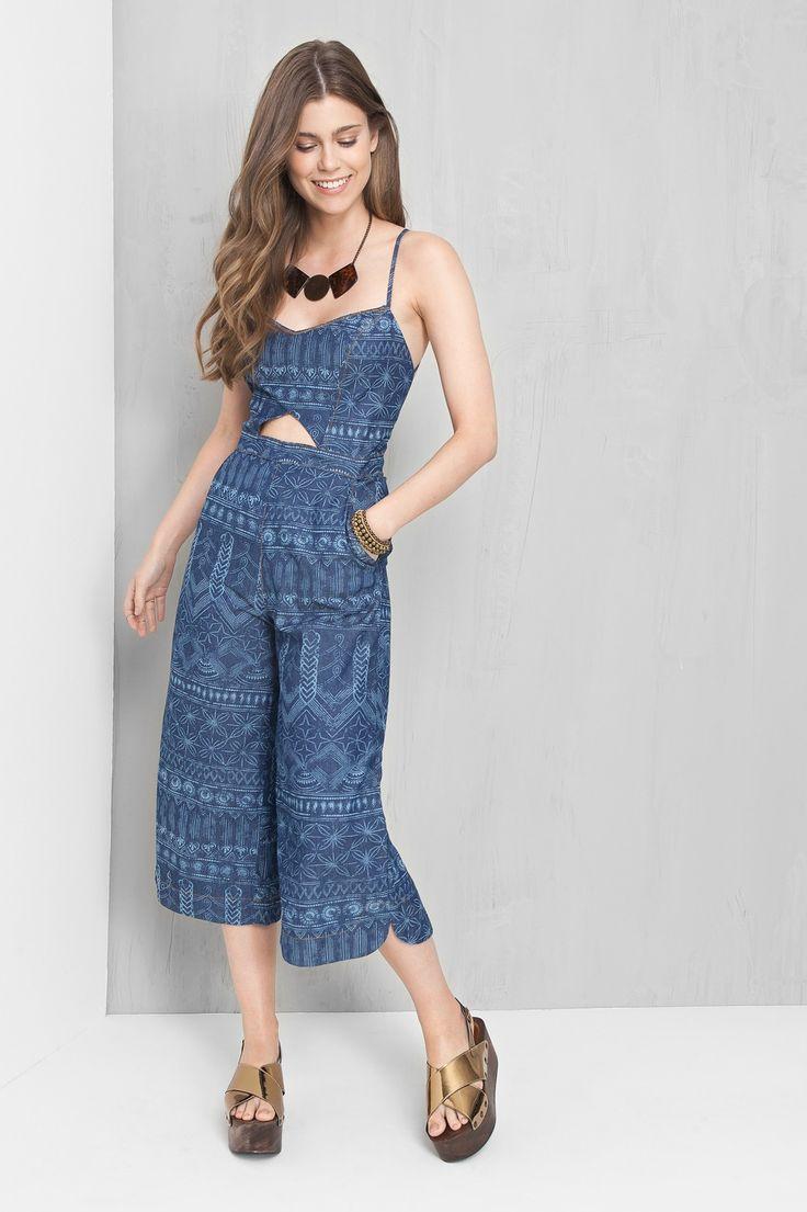 macacão pantacourt ohm | Dress to