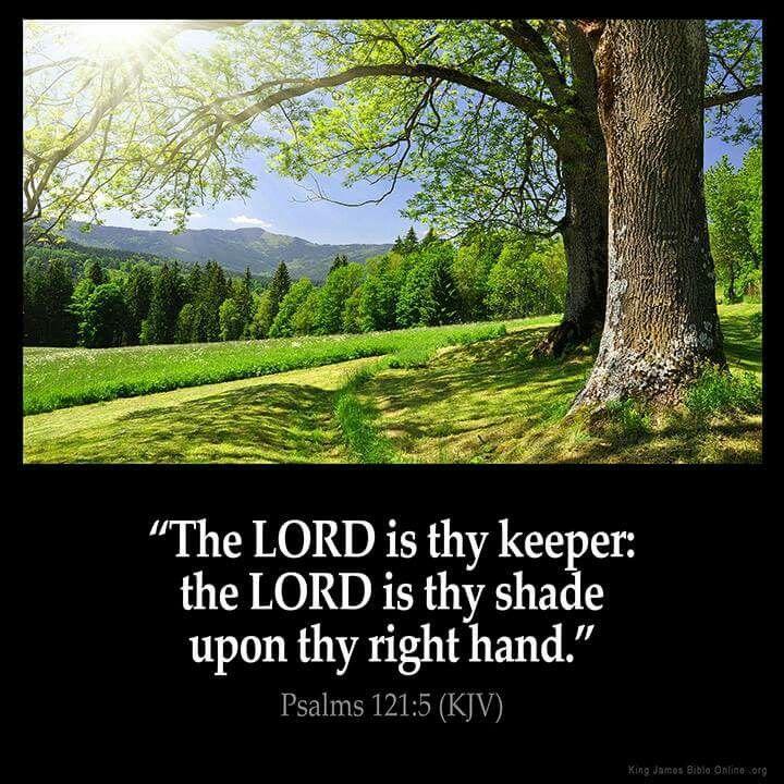 Psalms 121:5 KJV