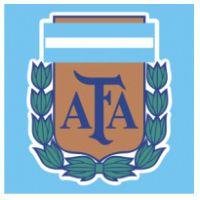 Este es el logotipo de fútbol de Argentina. Este logotipo es importante y histórico. Este logotipo representa el orgullo de Argentina.