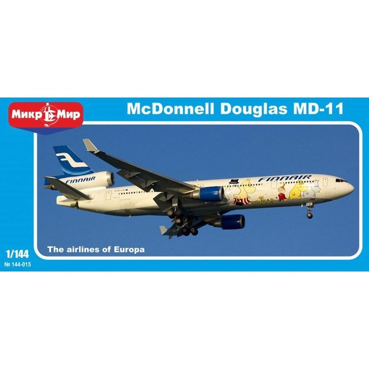 McDonnell Douglas MD 11 1/144 Scale Plastic Model Kit by Micro-Mir #MicroMir