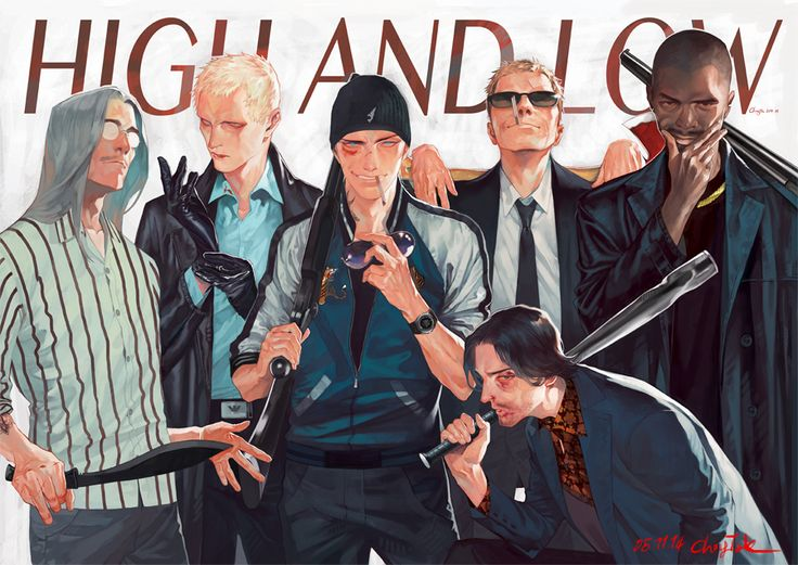 "allyalligator: ""05/11/14 Vince, Larry, Shawn, Jack, Stephen and Buck"""