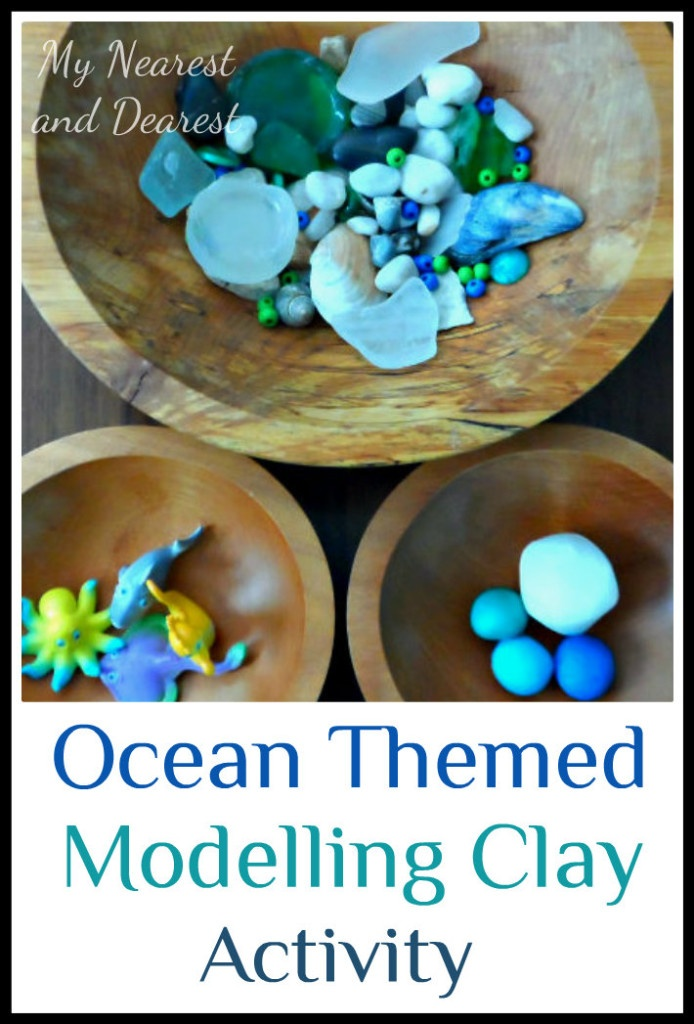 Ocean Themed Open Ended Modelling Clay Activity